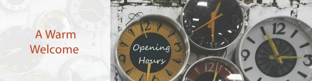 Landscape Opening Times a warm welcome 1000x261